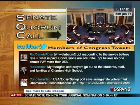 Senate Session 2012-02-27 (16:20:34-17:23:52)