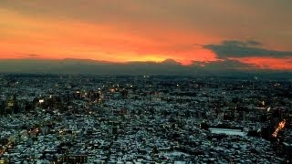 Sunny Day after Snowy Day, Shinjuku, Tokyo [iPhone 4S/HD]