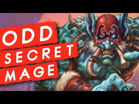 Trying to Break the Meta with Odd Secret Mage   Rastakhan's Rumble   Hearthstone