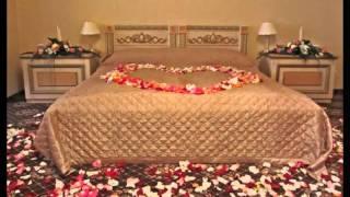 Оформление зала: романтический вечер