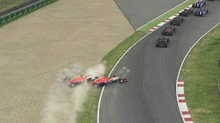 F1 2015 - Taking A Undertale From My Teammate In The Manor Marussia!! (3)