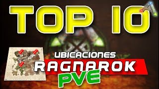 Top 10 ARK ✔ | LUGARES para CONSTRUIR -Ragnarok/PVE - [PC/PS4/XBOXONE] /ARK SURVIVAL EVOLVED