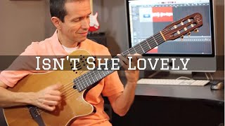 Isn't She Lovely (Solo Jazz Guitar)