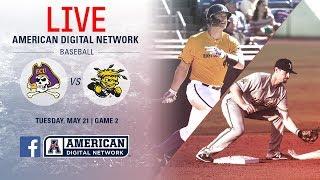 2019 American Baseball Championship: No. 1 ECU vs. No. 8 Wichita State Video
