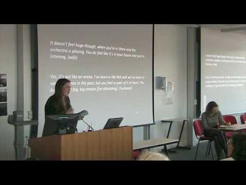 Geography, Music, Space: Lucy Dearn (University of Sheffield)