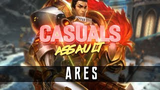 connectYoutube - Ares: Assault   All The Pain Came Back