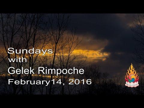 Precious Lives, Past and Present - Sundays with Gelek Rimpoche February 14, 2016