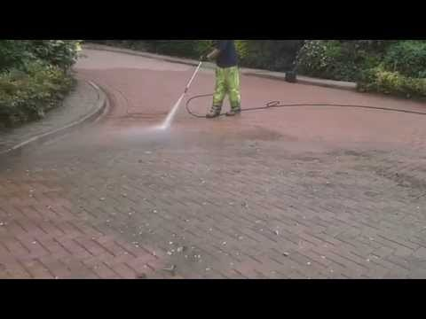 Road pressure washing in Lincolnshire