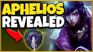"NEW CHAMPION APHELIOS REVEALED! RIOT'S ""UNIQUE ADC"" IS FINALLY HERE! - League of Legends"
