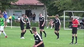 1. Runde Kreispokal 2019/20 // SG Grün/Weiß Pribbenow - Demminer SV 91 II 0:5 ( 0:1 )