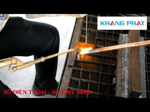 Kỹ thuật hàn ống đồng chuyên nghiệp | thiết bị lạnh Khang Phát