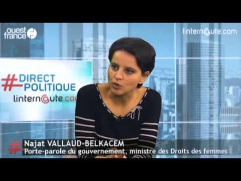 """Najat Vallaud-Belkacem - Mariage pour tous : """"Il est temps d'en finir avec ce débat parlementaire"""""""