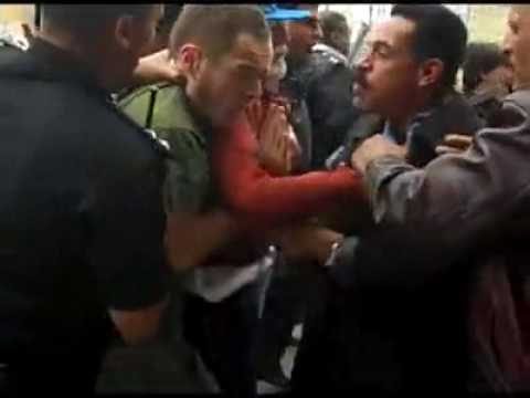 Egyptian Security Attack Western Gaza Activists in Cairo