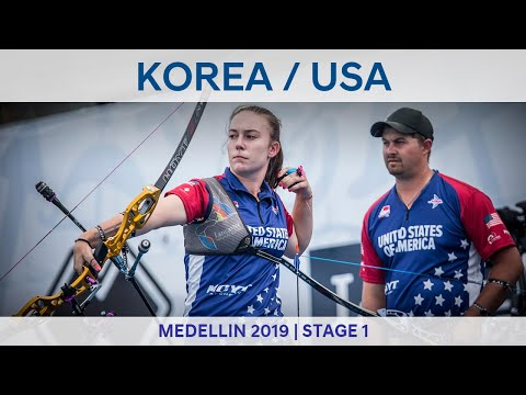 Korea v USA – recurve mixed team gold | Medellin 2019 World Cup S1