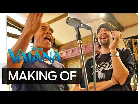 Making of VAIANA - Der Soundtrack