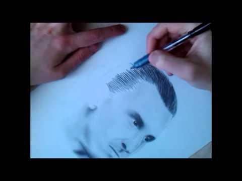 Speed Drawing Art - Zlatan Ibrahimovic