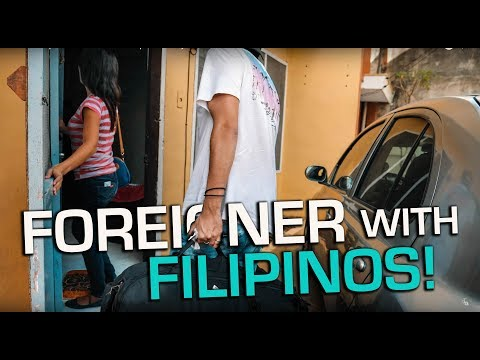 Foreigners LIVE with Friendliest Filipino Family!