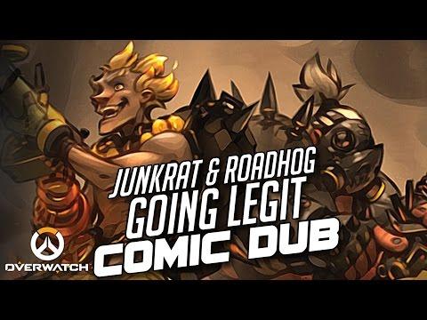 Overwatch - Junkrat & Roadhog: Going Legit [Comic Dub] | PHANTOMSAVAGE