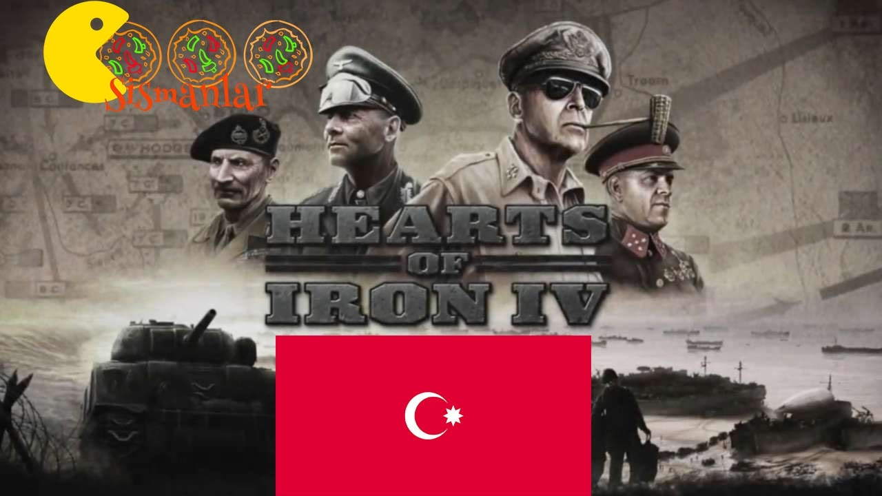 Azerbaycan ile dağıtma keyfi || Hearts of Iron IV - Azerbaijan - Bölüm 1