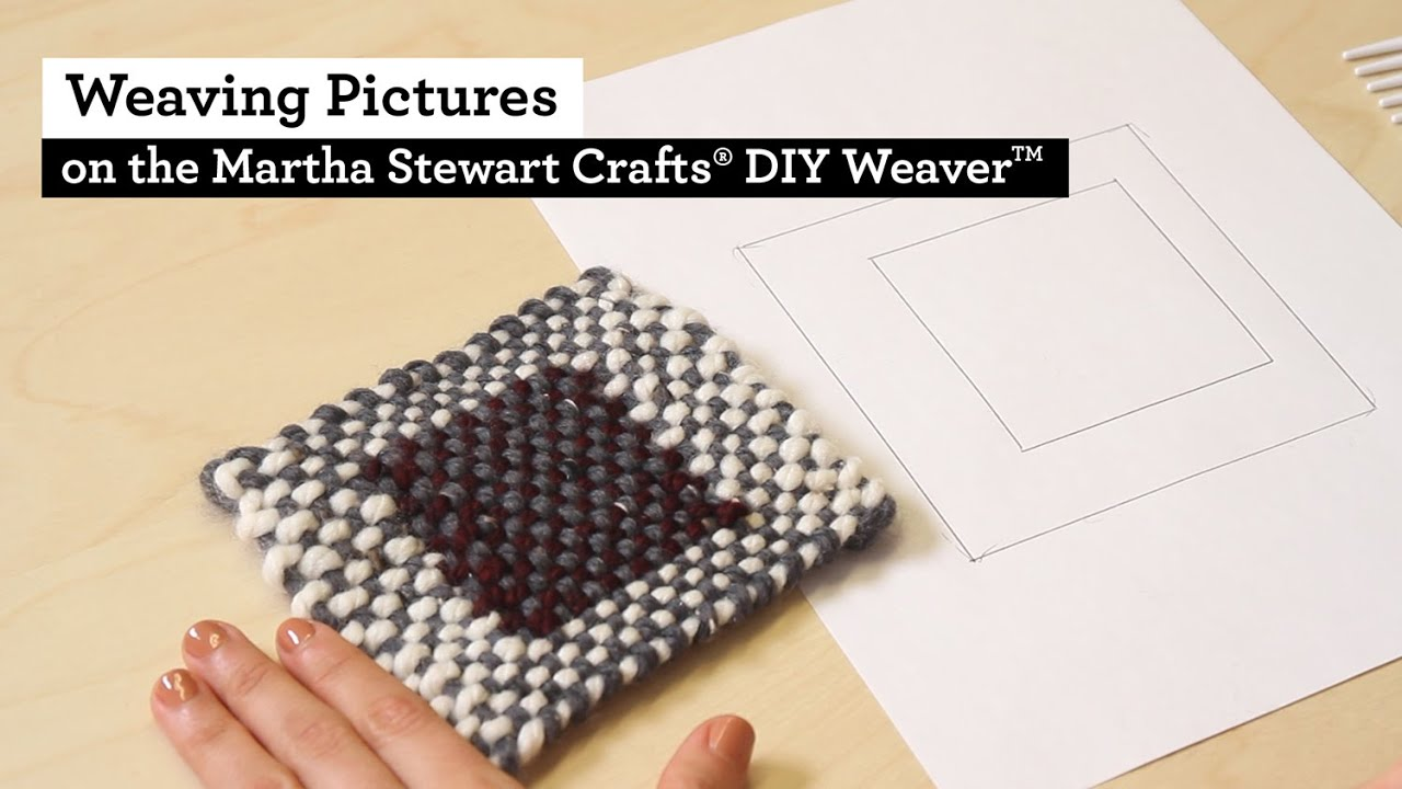 How to Weave Pictures with the Martha Stewart Crafts® DIY ...