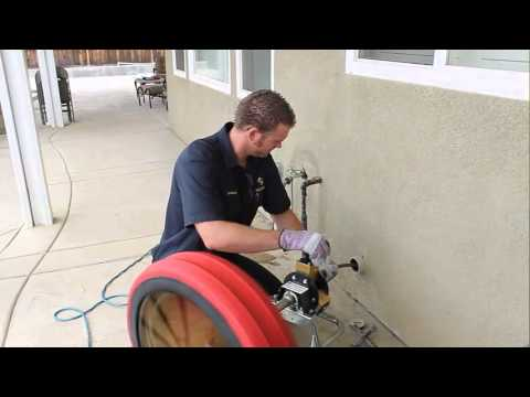 Drain Cleaning Demonstration Of The Gorlitz Go 68