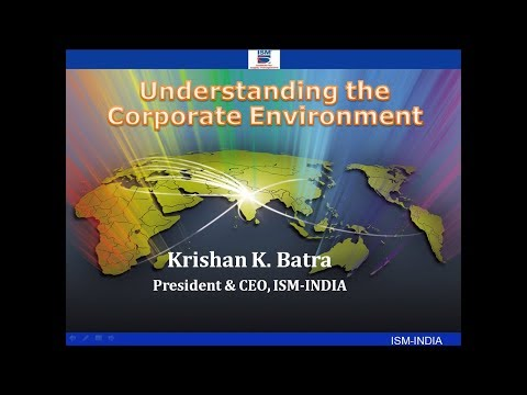 Understanding the Corporate Environment
