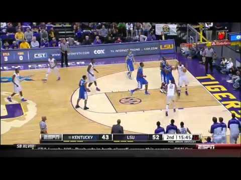 01/28/2014 Kentucky vs LSU Men