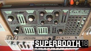 Dreadbox Erebus 3 - аналоговый полумодульный синтезатор (Superbooth18)