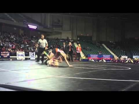 2014 133 pound NAIA National Champion Bryce Shoemaker ...