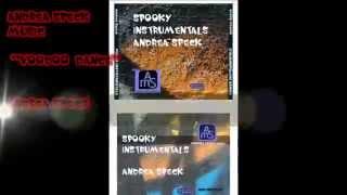 """ANDREA SPECK music presents """"VOODOO DANCE"""" (Album - Spooky Instrumentals)"""