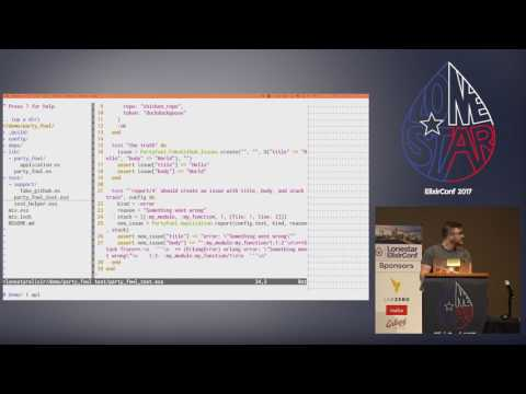 Lonestar ElixirConf 2017- Leveling up your Phoenix Projects with OTP by  Nico Mihalich