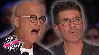 TOP 10 MAGIC And DANGEROUS Auditions On America's Got Talent 2020!