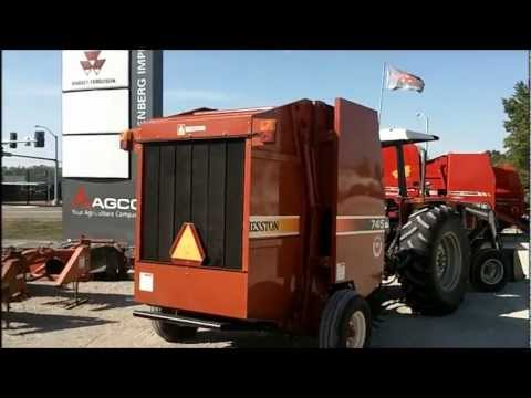 Pre Owned Vehicles >> SOLD! 2005 Hesston 745 Round Baler - YouTube