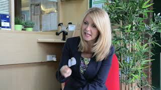 Interview with Esther McVey about the charity
