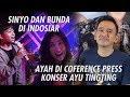 The Onsu Family - Sinyo dan Bunda di Indosiar sedangkan Ayah di Conference Press Konser Ayu Tingting