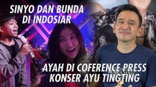 The Onsu Family - Sinyo dan Bunda di Indosiar sedangkan Ayah di Conference Press Konser Ayu Tingting