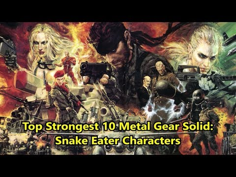 Misc Computer Games - Metal Gear Solid 3 - Lifes End