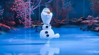 At Home With Olaf 'Alone In The Forest' Trailer (2020) Disney HD