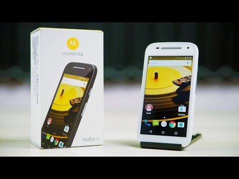 Moto E (2nd Gen) - Unboxing & Hands On!