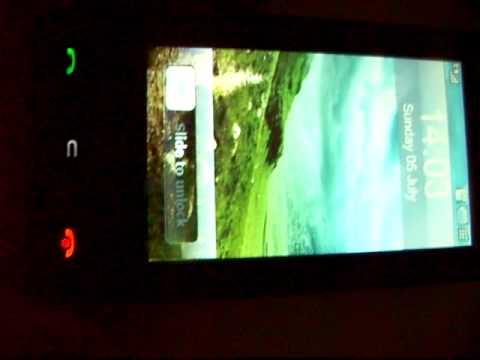 LG KU990 Viewty - iPhone flash Theme