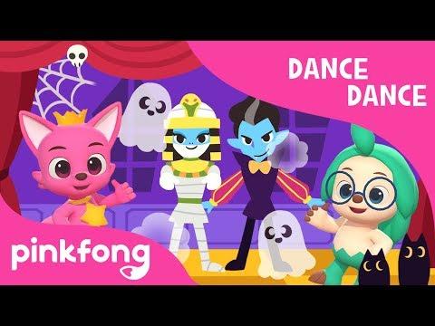 Monster Shuffle | Halloween Songs | Dance Dance | PInkfong Songs for Children