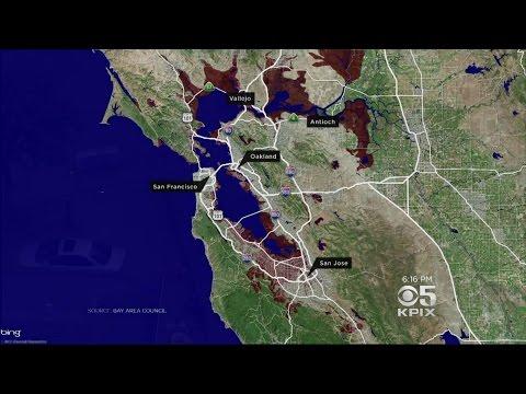 Devastating Floods Result Of Bay Area
