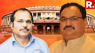 BJP Working President JP Nadda Slams Adhir Ranjan Chowdhury For His 'Gandi Naali' Remark On PM Modi