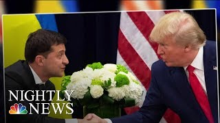 Trump Issues Warning To Republicans As Impeachment Inquiry About To Go Public | NBC Nightly News