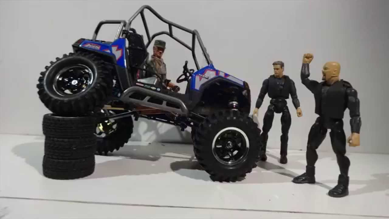 Side By Side Atv >> Polaris RZR 1:10 scale model