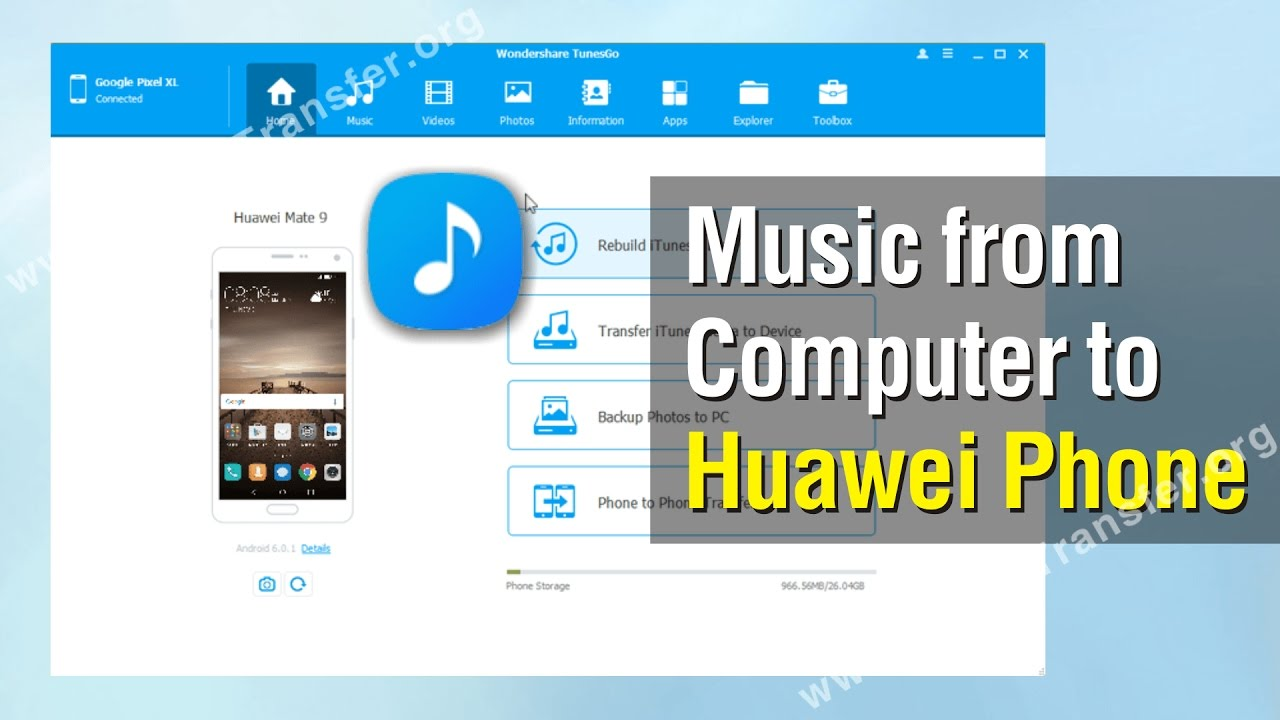 How To Add Music From Computer To Huawei Phone Youtube
