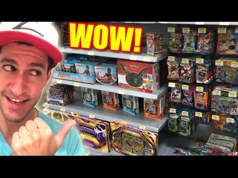BUYING POKEMON CARDS! - Trip to WALMART & TARGET!