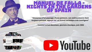Manuel de Falla : Nights in the Gardens of Spain #ONPC