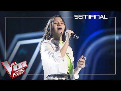 Alba Aguilar Cantan 'I Will Always Love You'   Semifinal   La Voz Kids Antena 3 2019