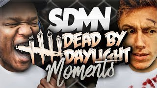 HILARIOUS DEAD BY DAYLIGHT MOMENTS! thumbnail